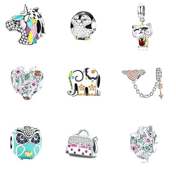 charmsfitbracelet, Owl, Fashion, Angel