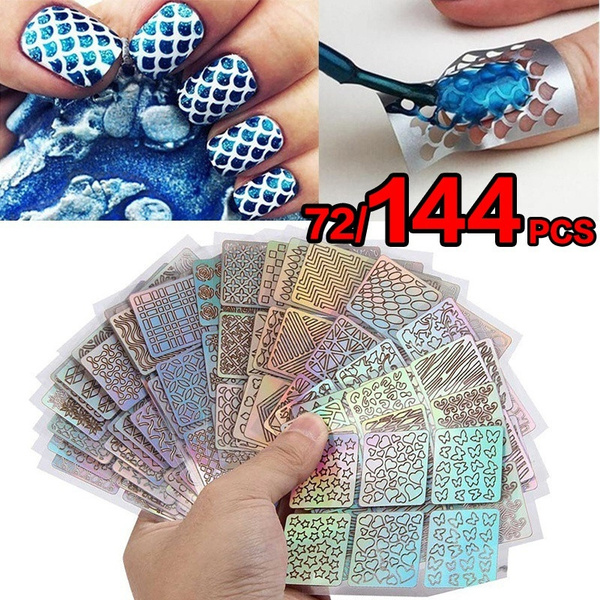 nailwatertransferdecal, nail decals, Laser, Beauty