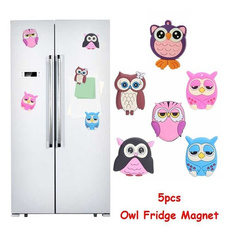 Owl, Home Decor, 3dwallsticker, Silicone