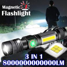 Flashlight, led, usb, camping
