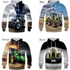 3D hoodies, 3dprintsweatshirt, Winter, Cars