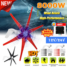 verticalflataxiswindturbine, Home & Kitchen, windturbine12v, electricpower