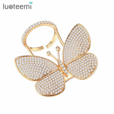 butterfly, Cubic Zirconia, Fashion, danced