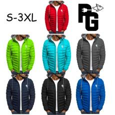 cottonjacket, drawstringcoat, Coat, pullovercoat