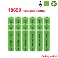 Flashlight, 18650battery, 18650, Battery