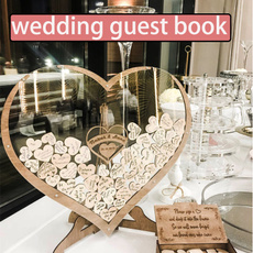 uniqueweddinggift, Heart, weddingguestbookidea, Wedding