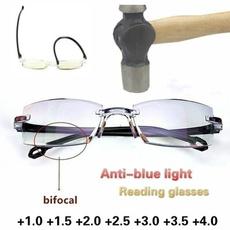 Blues, retro glasses, lights, Blue light