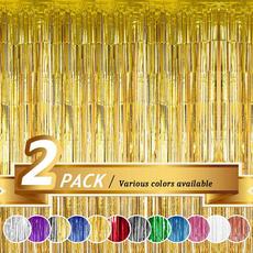 decoration, metallicfoilfringe, partycurtain, newyeardecor