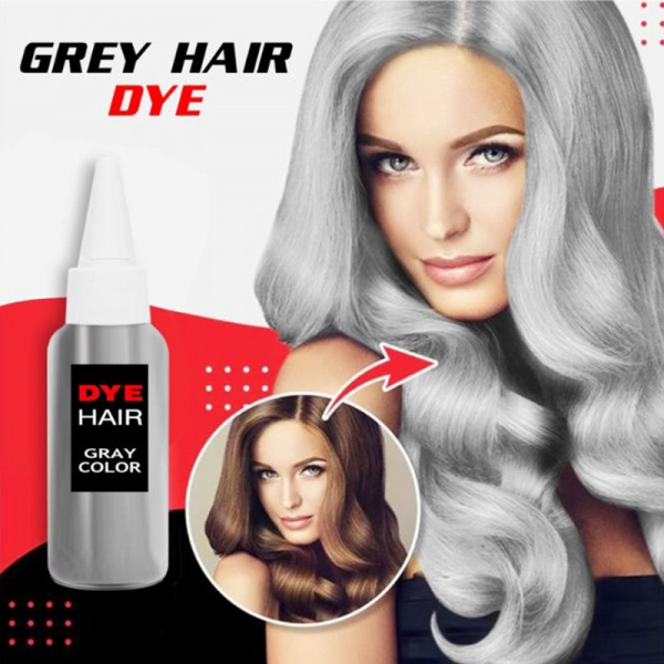 Gray, Fashion, hairdyemud, candy color