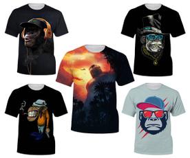 Mens T Shirt, Funny T Shirt, monkey, Sleeve