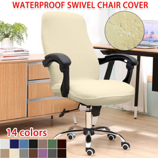 chaircover, Office, Elastic, waterproofswivelchaircover