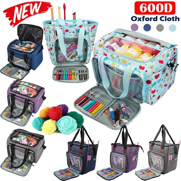 woolen, Sewing, carryingbag, crochettoolstorage