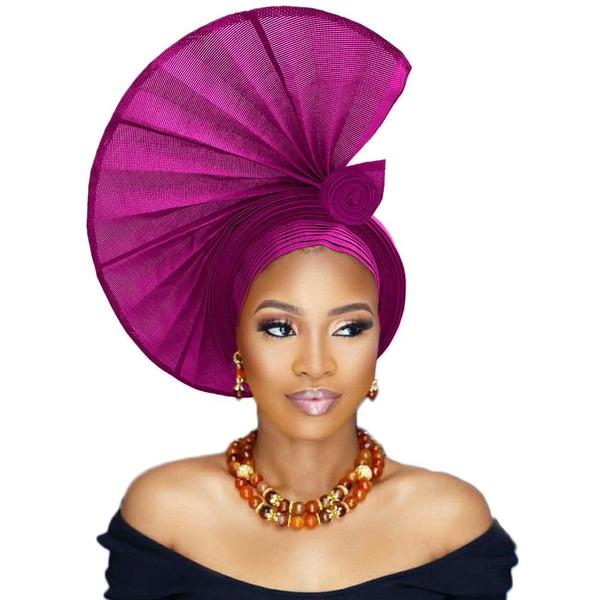 Women, Fashion, autogele, nigerianheadtie