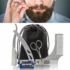 beardgroomingkit, beardtool, Stainless Steel, Beauty