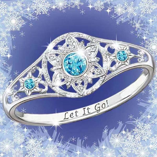 Sterling, Fashion, Princess, Women Ring