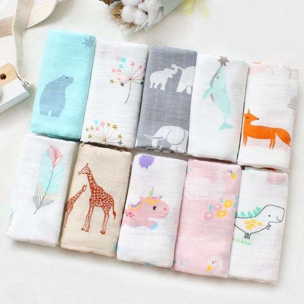 Square, Towels, swaddle, cm