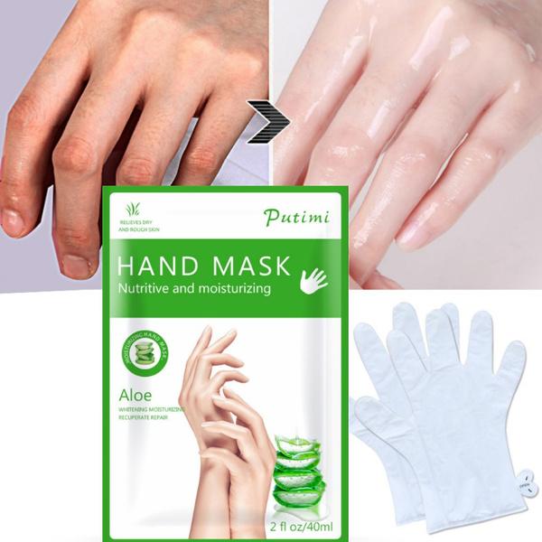 aloeverahandmask, handmaskexfoliating, exfoliatinghand, Masks