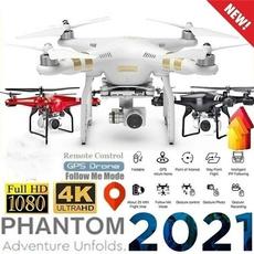 Quadcopter, Remote, Camera, Photography