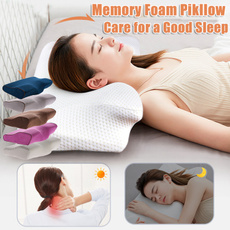 slowreboundpillow, neckpain, goodsleep, Bedding