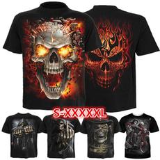 skull, Mens T Shirt, Goth, Funny