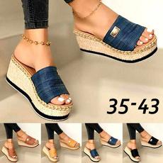 Summer, Flip Flops, Sandals, Elastic