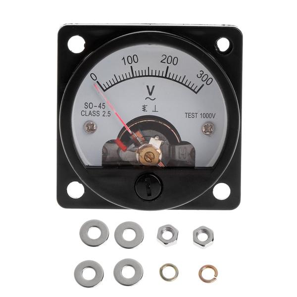 dial, voltmetergauge, Meter, Round