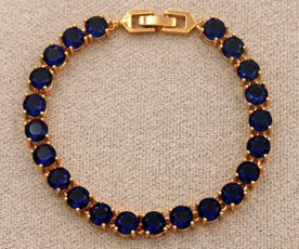 Fashion, Sapphire, Family, Bracelet