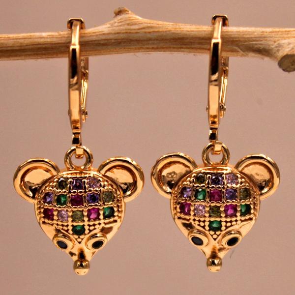 Fashion Accessory, 18k gold, Dangle Earring, Gemstone Earrings