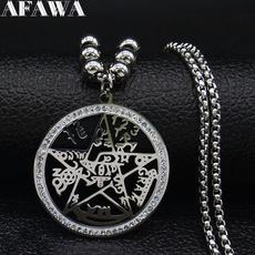 Steel, starcharmsnecklace, Star, Jewelry