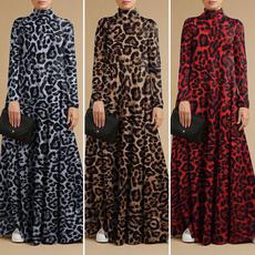 Holiday, Fashion, Long Sleeve, plus size dress