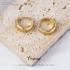 Hoop Earring, Jewelry, gold, Color