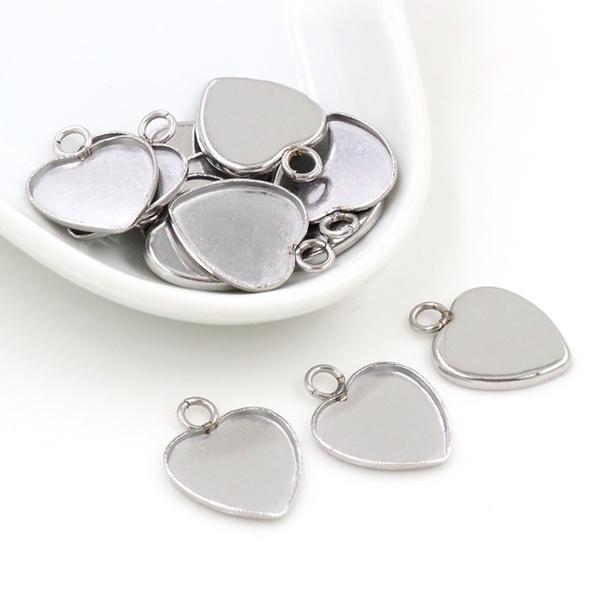 Steel, Heart, 12, Cameo