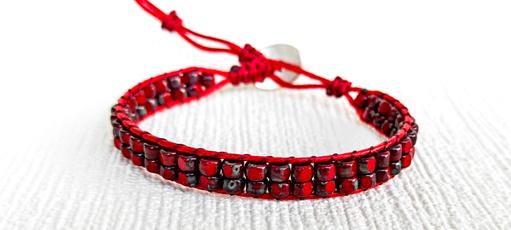 Bead, Handmade Jewelry, redbracelet, handmadebraceletsformen
