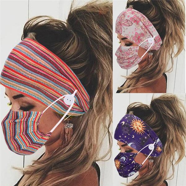 facemaskholder, Beauty, Elastic, button