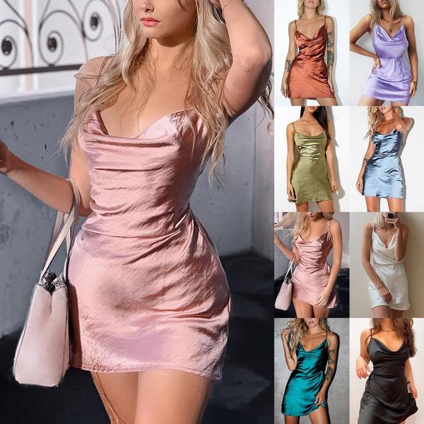 women sexy dress, Summer, Shorts, short dress
