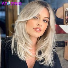 wig, Women's Fashion & Accessories, Cosplay, blondebobwig