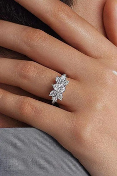Sterling, White Gold, Silver Jewelry, DIAMOND