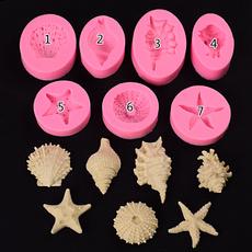 shells, Baking, starfish, Marine