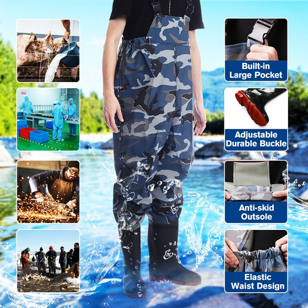 wadingpantsboot, fishingchestwader, Hunting, Waterproof