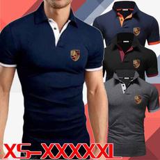 Summer, Plus Size, Cotton Shirt, Camisas polo