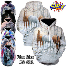 horse, Fashion, hooded, Animal