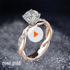 18 k, DIAMOND, wedding ring, 925 silver rings