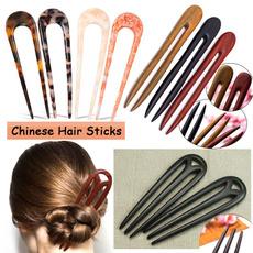hairpinsforupdo, Combs, woodenhairfork, Chinese