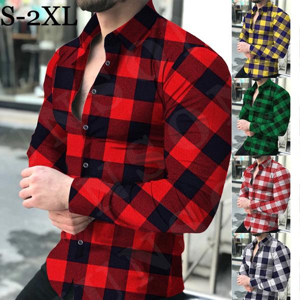 shirtmen, checkeredshirt, Fashion, Tops & Blouses