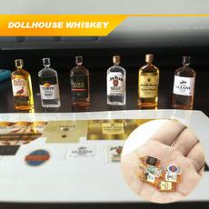 Mini, Dollhouse, dollhousewhiskeybottle, dollhouseminiaturewhiskey