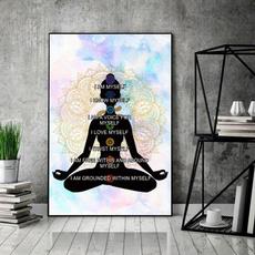 art, spiritual, Yoga, yogaposter