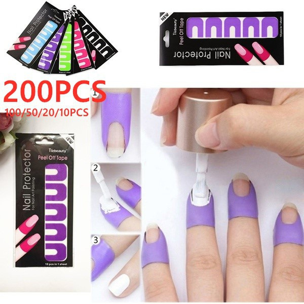 nail stickers, nailprotector, manicure, Beauty