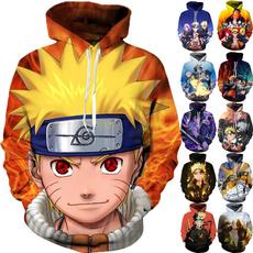 3D hoodies, Plus Size, Cosplay, printed