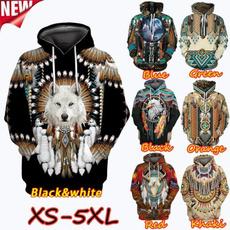 hoodiesformen, Fashion, nativeamerican, Long Sleeve