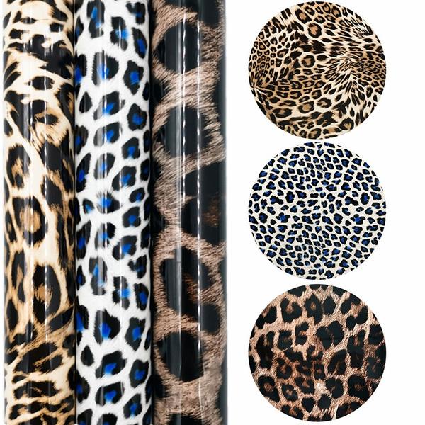 Holographic, Laser, Glitter, Leopard